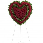 Majestic Heart Floral Arrangement