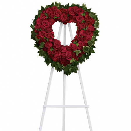 Blessed Heart Sympathy Arrangement