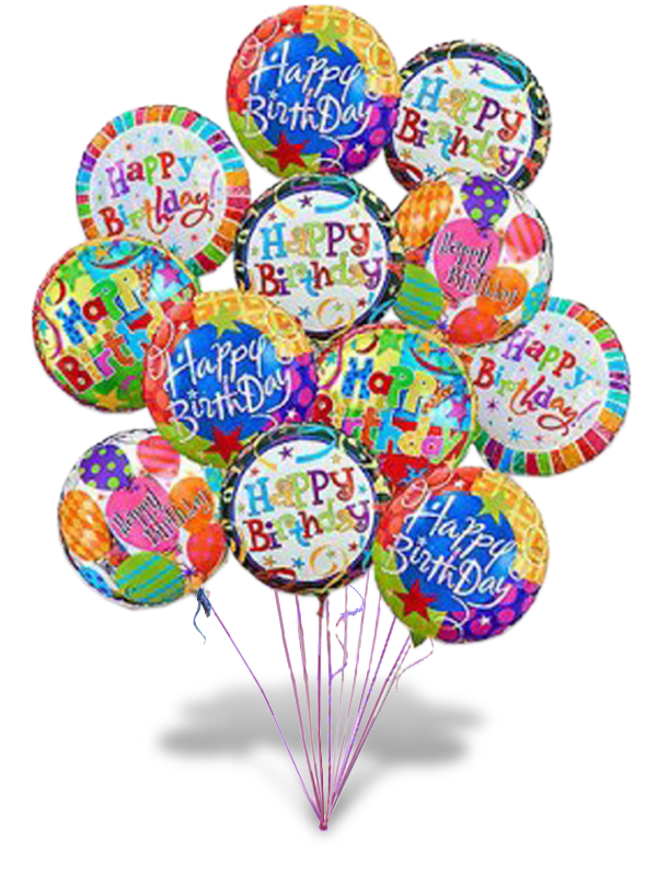 Birthday Mylar Balloon One Per Unit Price Manteca Floral Co