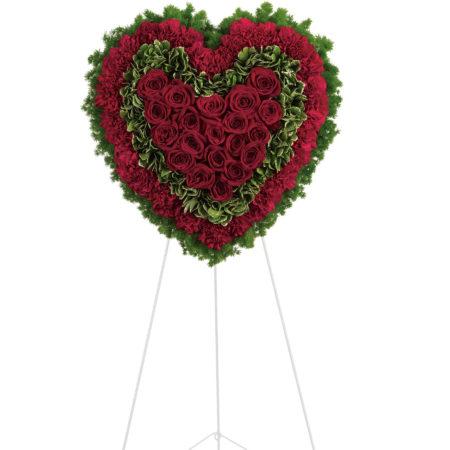 Majestic Heart Floral Arrangement
