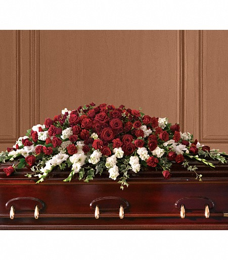 Garden Of Grandeur Casket Spray Manteca Floral Co