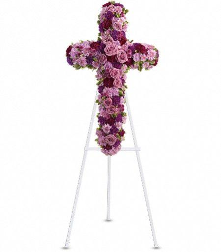 Manteca Floral Funeral Arrangment